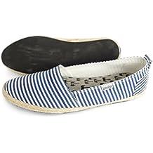 Indosole Pantai Travel Shoes Navy Stripe