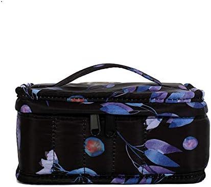 エッセンシャルオイル収納ボックス エッセンシャルオイルの旅行や保管組織及び表示のためのアロマオイルスーツケースの完璧な表示例17本のボトル (色 : マルチカラー, サイズ : 17X13X8.5CM)