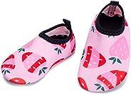 L-RUN Baby Boys Girls Water Shoes Lightweight Toddler Infant Aqua Socks Summer Swimming Beach Pool Walking Sho