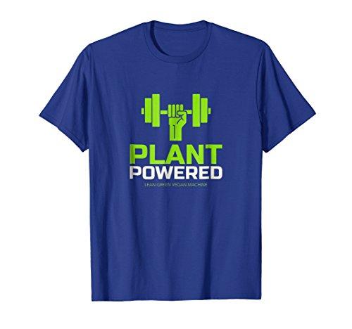 Plant Powered Lean Green Vegan Machine Fitness T Shirt