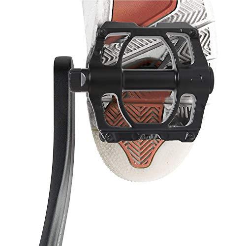 YifKoKo Pedali bici,realizzati in metallo con cuscinetti a sfera sigillati antiscivolo industriali, pedali bici pedane intercambiabili antipolvere e impermeabili per bici elettriche, mountain bike