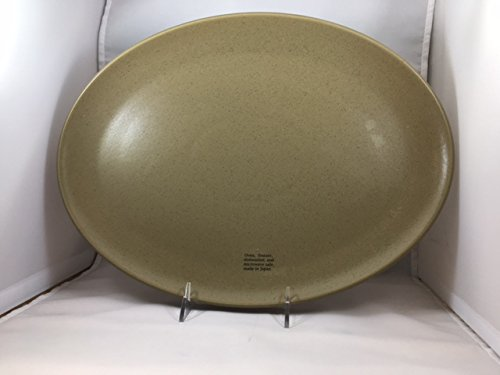 Calvin Klein The Khaki Collection cargo sand oval platter