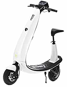 OjO Commuter Scooter for Adults - Eco-friendly, Electric & Smart - White