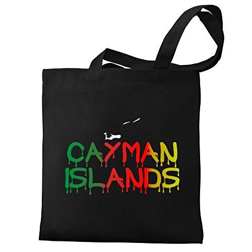 Tote Islands Eddany Dripping Eddany Bag Cayman Dripping Canvas YnpUSq