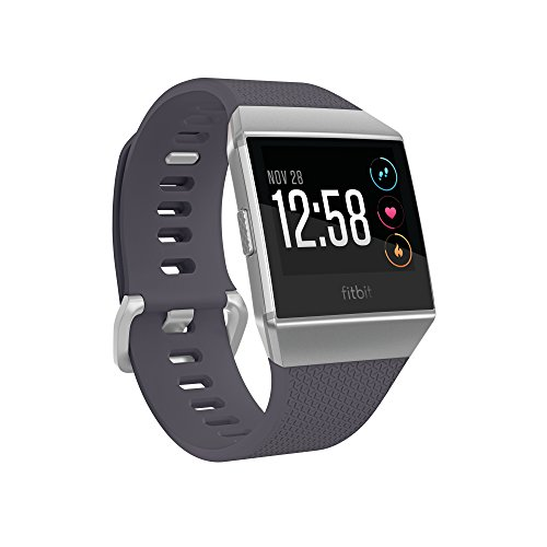 Fitbit Smartwatch Blue Gray Silver Included