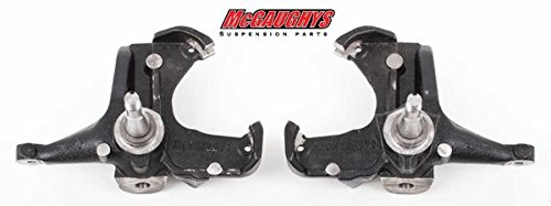 Height Stock Spindles (McGaughys Stock Height Spindles Converts to Disc Brakes c-10 2WD 63174)