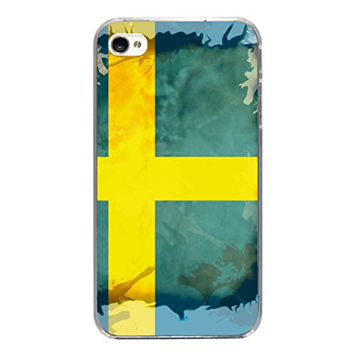 "Disagu Design Case Coque pour Apple iPhone 4s Housse etui coque pochette ""Schweden"""