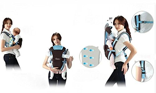 dc5d103fd2d Baby backpack carrier new ergonomic baby sling Breathable multifunctional Front  Facing kangaroo baby bag 2-