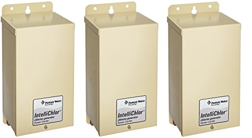 Pentair 520556 IntelliChlor Power Center For Salt Chlorine Generator Systems (US Version) (Pack of 3) ()