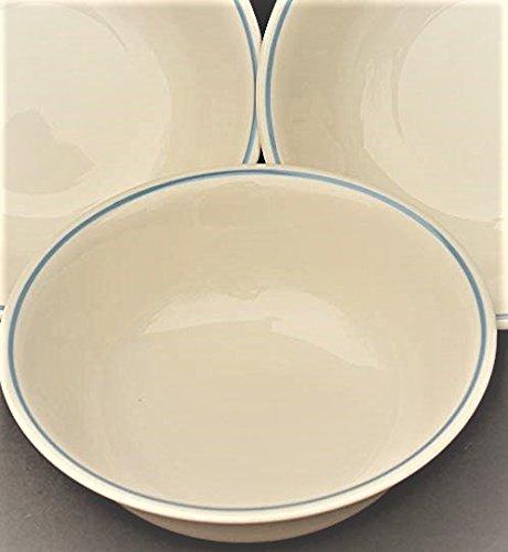 beige corelle bowls - 2