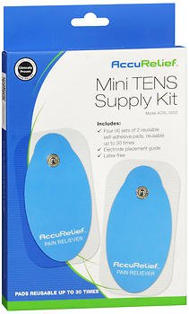 AccuRelief Mini TENS Supply Kit, Pack of 2