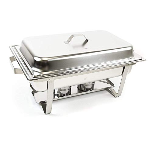 Alpha Living 8QT Chafing Dish High Grade Stainless Steel Chafer Complete Set by Alpha (Image #5)