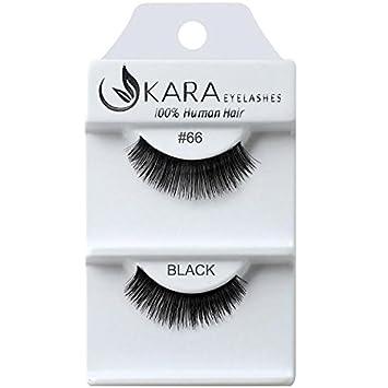 244d12a2cc1 Amazon.com : UKARA 100% Human Hair Natural False Eyelashes (#K-EL-066-12  Pack) Fake Lash Makeup : Beauty
