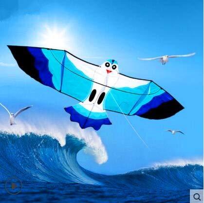 GUNDAN 2.2 m Seagull Dragon Nylon Ripstop Jellyfish Dragon con Grip Cord Outdoor Toy Albatros Dragon