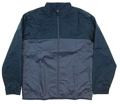 adidas Golf Climatstorm Provisional Rain Jacket, Sub Blue, - Neck Golf Adidas Mock