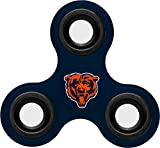 NFL Diztracto Fidget Spinnerz - 3 Way, Chicago Bears, One Size