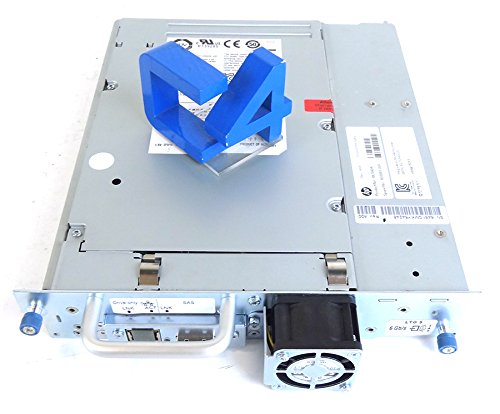 HP 695111-001 MLS Ultrium 3000 LTO-5 SAS tape library assembly - 3TB compressed capacity, 1TB/hr compressed transfer rates, Linear Tape File System (LTFS), and AES 256-bit hardware encryption (Option BL540B) by HP