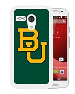 Fashionable And Unique Designed Case For Motorola Moto G Phone Case With Baylor Bears White