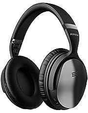 Casque Bluetooth Reduction de Bruit Active, CasqueBluetoothsans Fil stéréo Hi-FI, 30 Heures d'Autonomie, Casque Audio Over-Ear Pliable, Mpow H5 CasqueBluetoothsans Fil pour Téléphone/PC