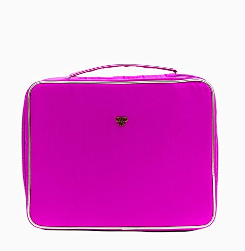 PurseN Diva Makeup Travel Organizer Bag Case Pink Bling