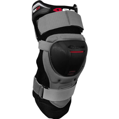 (EVS SX01 Adult Off-Road Motorycle Knee Guard - Grey/Medium)