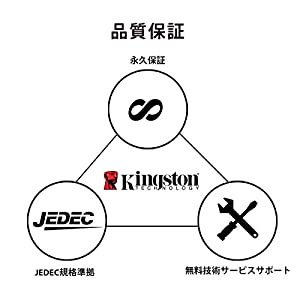 Kingston ValueRAM 8GB 240-Pin DDR3 SDRAM DDR3 1600 (PC3 12800) Desktop Memory Model KVR16N11/8