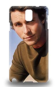 Fashion 3D PC Case Cover For Galaxy Note 3 Christian Bale The United Kingdom Male Christian Charles Philip Bale The Flowers Of War ( Custom Picture iPhone 6, iPhone 6 PLUS, iPhone 5, iPhone 5S, iPhone 5C, iPhone 4, iPhone 4S,Galaxy S6,Galaxy S5,Galaxy S4,Galaxy S3,Note 3,iPad Mini-Mini 2,iPad Air )