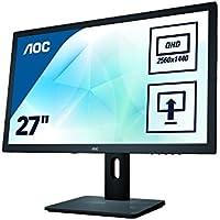 AOC Q2775PQU 27 4K Ultra HD IPS Black computer monitor