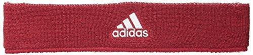 adidas Interval Reversible Headband, University Red/White / White/University Red, One Size