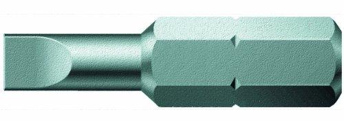 Pack of 10 Slotted 0.6mm Head x 25mm Blade Wera Series 1 800//1 Z Sheet Metal Bit