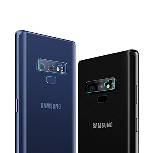 Galaxy Note 9 Camera Lens Protector,[Anti-Scratch][High Definition][Bubble-Free] Tempered Glass Camera Lens Protector Film Compatible Samsung Galaxy Note 9 (2 Pack)