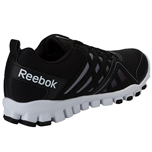 Reebok - Zapatillas de malla para hombre Negro negro
