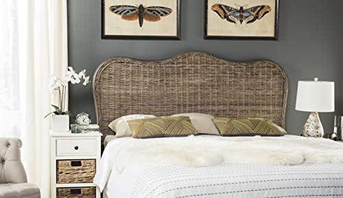 Safavieh Home Collection Imelda Grey Headboard Queen