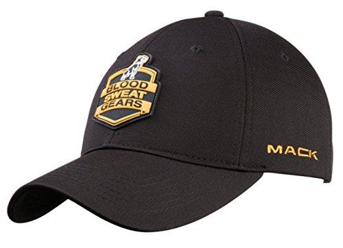 Mack Trucks Blood, Sweat & Gears Patch Black & Gold Hat/Cap]()