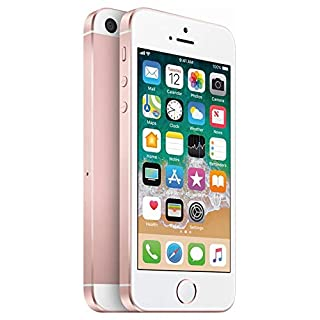 Apple iPhone SE, 1st Generation, 16GB, Rose Gold - For AT&T (Renewed)