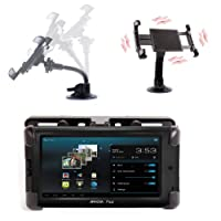 """DURAGADGET Strong & Sturdy Car Mount Kit With Expandable Grip For Archos Arnova 7"""" Gbook (ARM Cortex A8 1GHz Processor, Android 4.0) & Archos 80 Titanium 8"""" Tablet"""