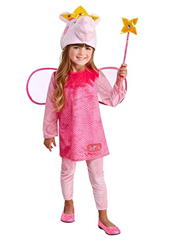 Girls Princess Peppa Pig Costume 2T Pink -