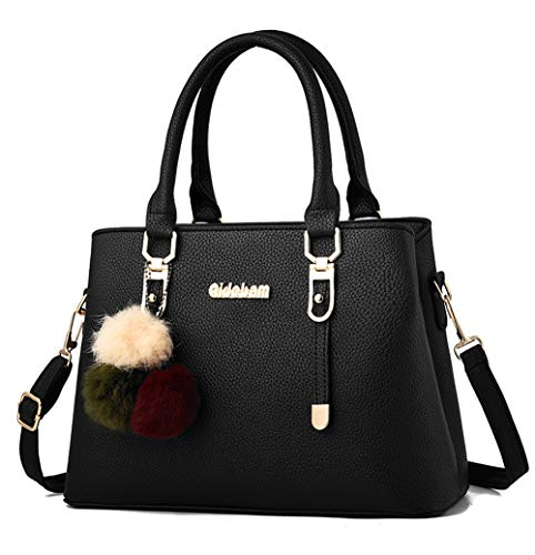 Covelin Womens Fashion Satchel Handbag Top Handle Tote Shoulder Crossbody Bag