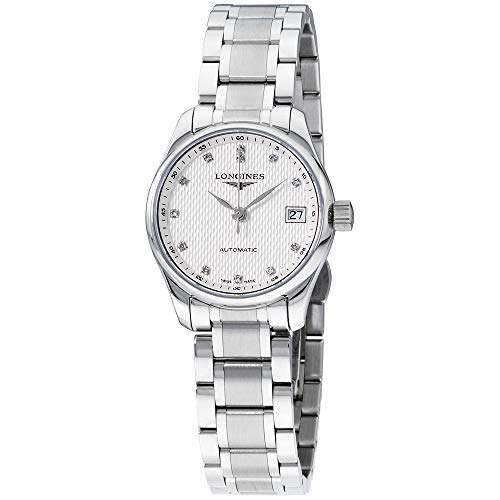 Longines Master Collection Silver Dial Stainless Steel Ladies Watch L21284776