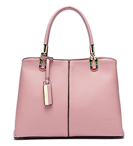 Bolsos Mujer Bolsos Xinmaoyuan Big Bag Bolso Bolsa de cuchara de Cercanías Rosa
