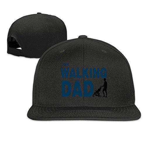 The Walking Dad Funny Gift Snapback Cap Flat Brim Baseball Hat -