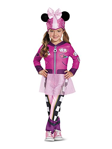Minnie Roadster Classic Toddler Costume, Multicolor, Large (4-6X)]()