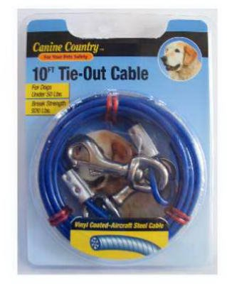 Westminster Pet Products 29110 10-Ft. Tie-Out Cable - Quantity 6 by Westminster Pet Products
