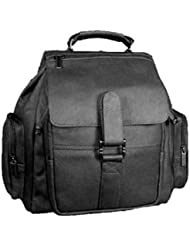 David King & Co. Top Handle Promotional Backpack, Black, One Size