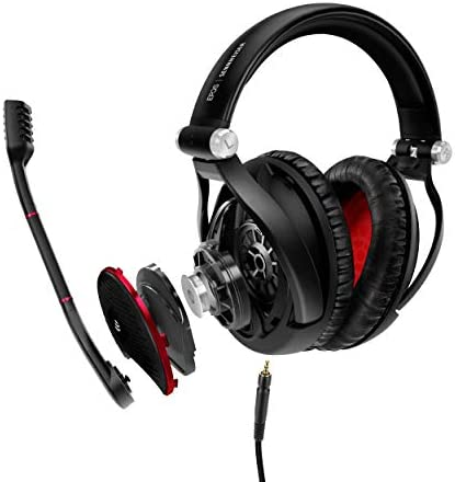 EPOS I SENNHEISER GAME ZERO Gaming Headset, Closed Acoustic with Noise cancelling microphone, Foldable, Flip-to-mute, Ligthweight, PC, Mac, Xbox One, PS4, Nintendo Switch, and Smartphone compatible. 18