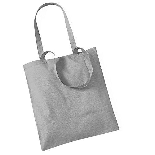 """Westford Mill- Promoción bolsa básica """"Bolsa para la vida""""- capacidad 10 litros Gris claro"""