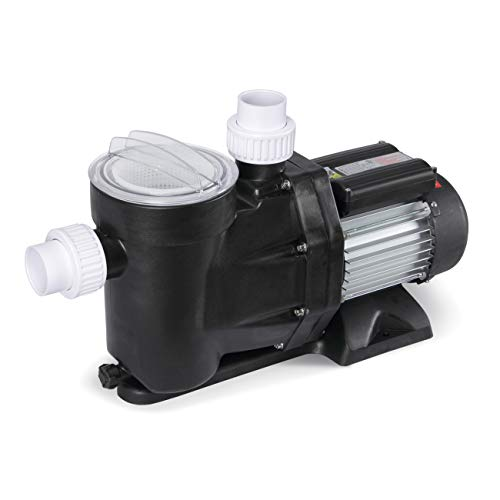ARKSEN 1.2HP Electric Swimming Pool Pump 5340GPH For Pool Hot Tub Spa Water w/Strainer Basket Hose Adapters, UL Certified