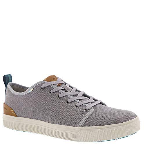 TOMS Mens TRVL LITE Low Athletic & Sneakers Khaki (10.5 M US, Drizzle Grey Heritage Canvas)