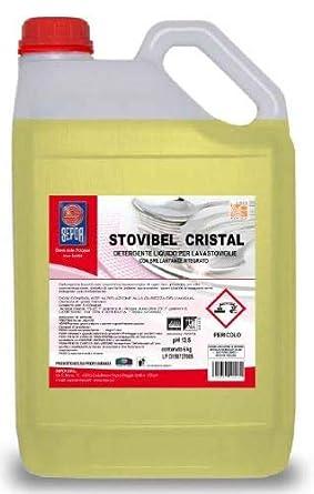 STOVIBEL CRISTAL - Detergente profesional para lavavajillas con ...