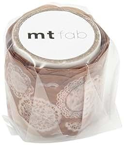 Cinta adhesiva decorativa washi troquel encaje ideal de mt